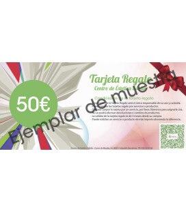 Tarjeta Regalo de 50€